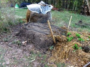 Butte permaculture etape 3