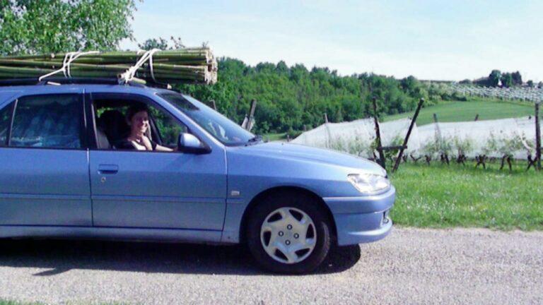 yourte transport voiture