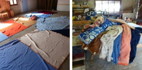 couvertures pour isolation yourte